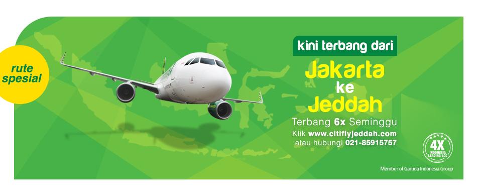 Citilink Jakarta-Jeddah