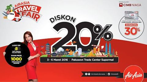 AirAsia Travel Fair 2016