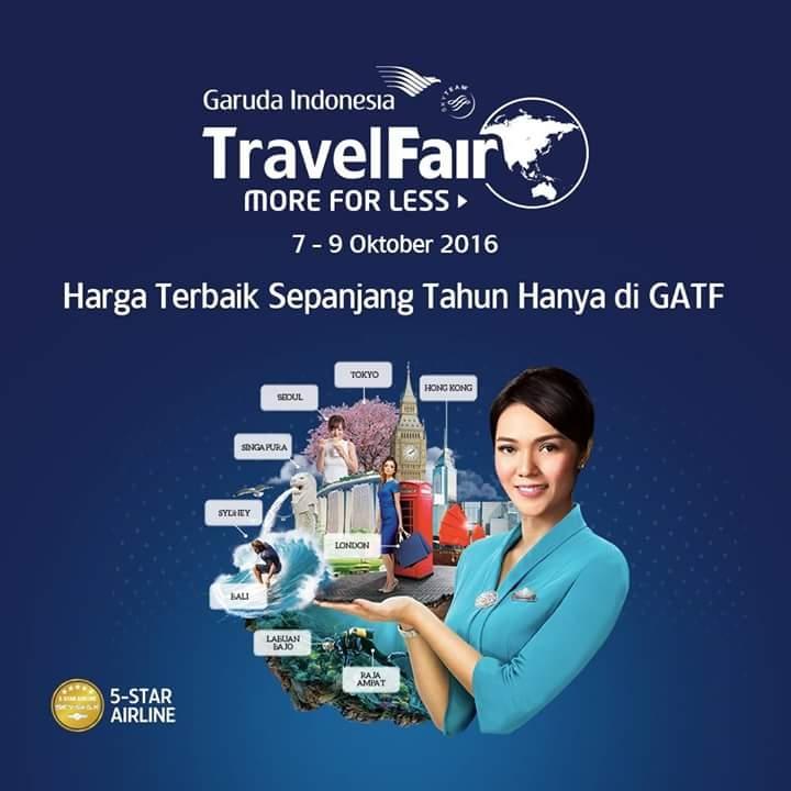 Promo Garuda Indonesia Travel Fair 2016