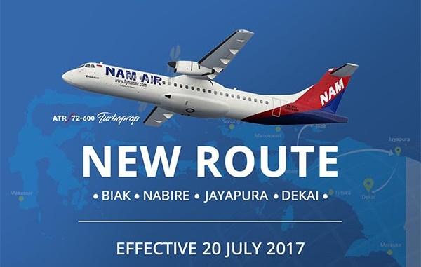 Rute Baru Nam Air Juli 2017